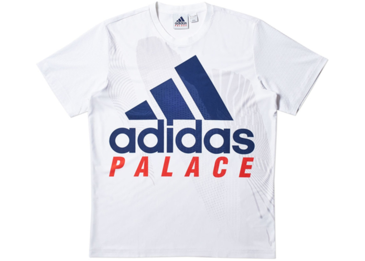 4f9f470b Palace adidas On Court Interview Tee White - SS18