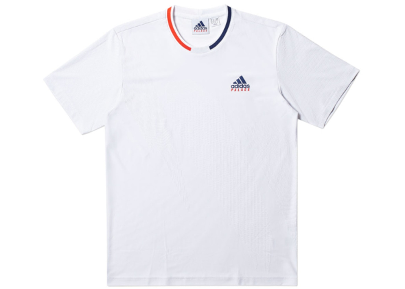 602953d3 Palace adidas On Court Jacquard Tee White. adidas On Court Jacquard