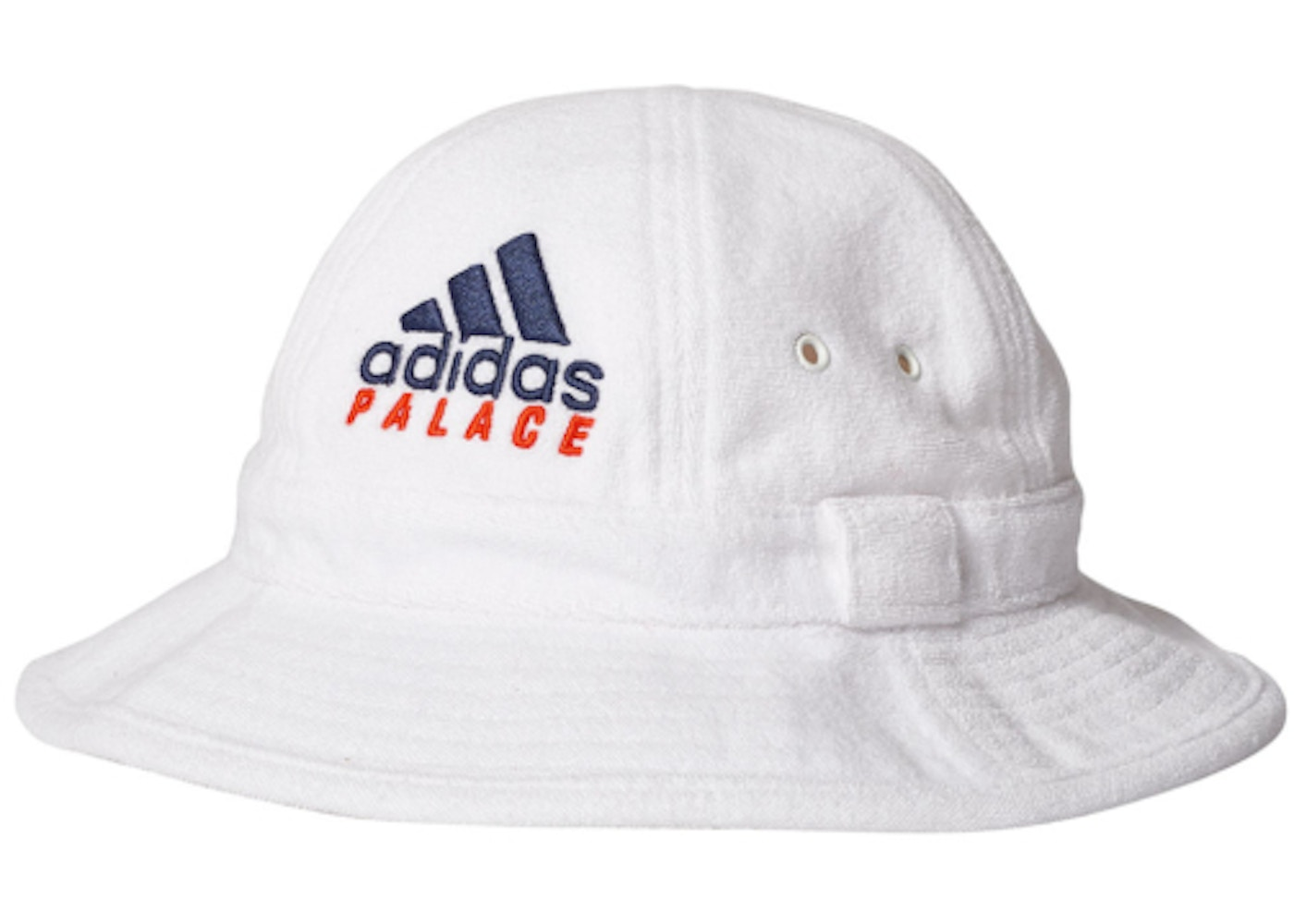 Sell. or Ask. View All Bids. Palace adidas On Court Towel Bucket Hat White b9348c625fd