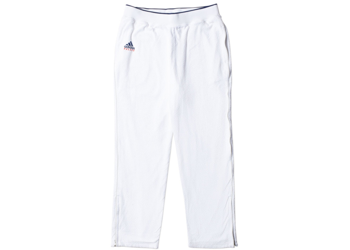 112833a09999 Palace adidas On Court Towel Track Pant White - SS18
