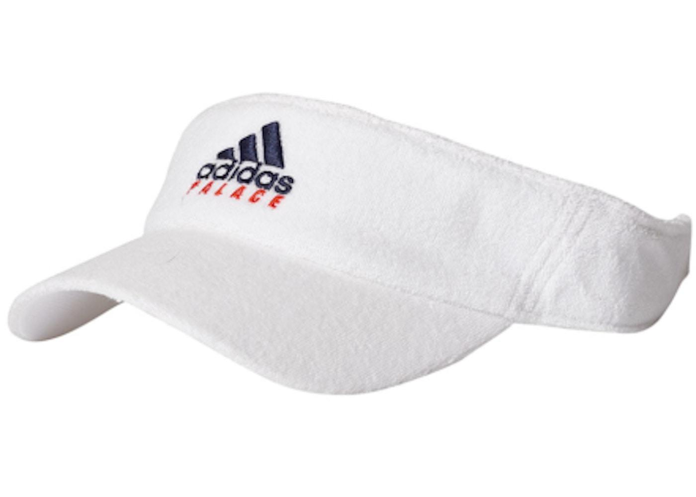 03eda793a45 Palace adidas On Court Towel Visor White - SS18