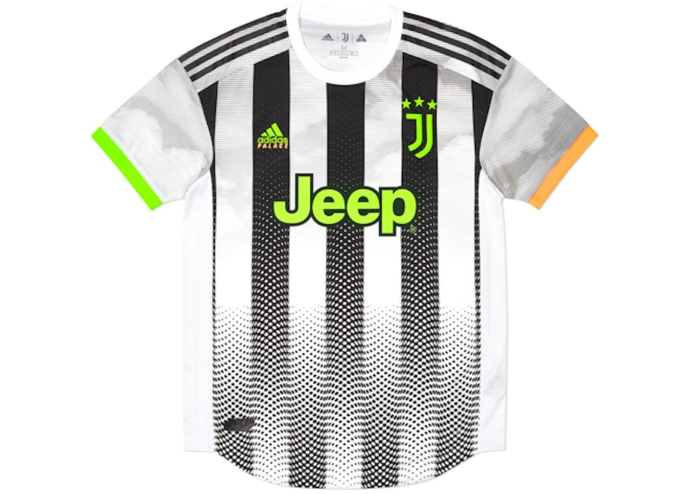 Chip De trato fácil Enajenar  Palace Adidas Palace Juventus Authentic Fourth Jersey White - FW19