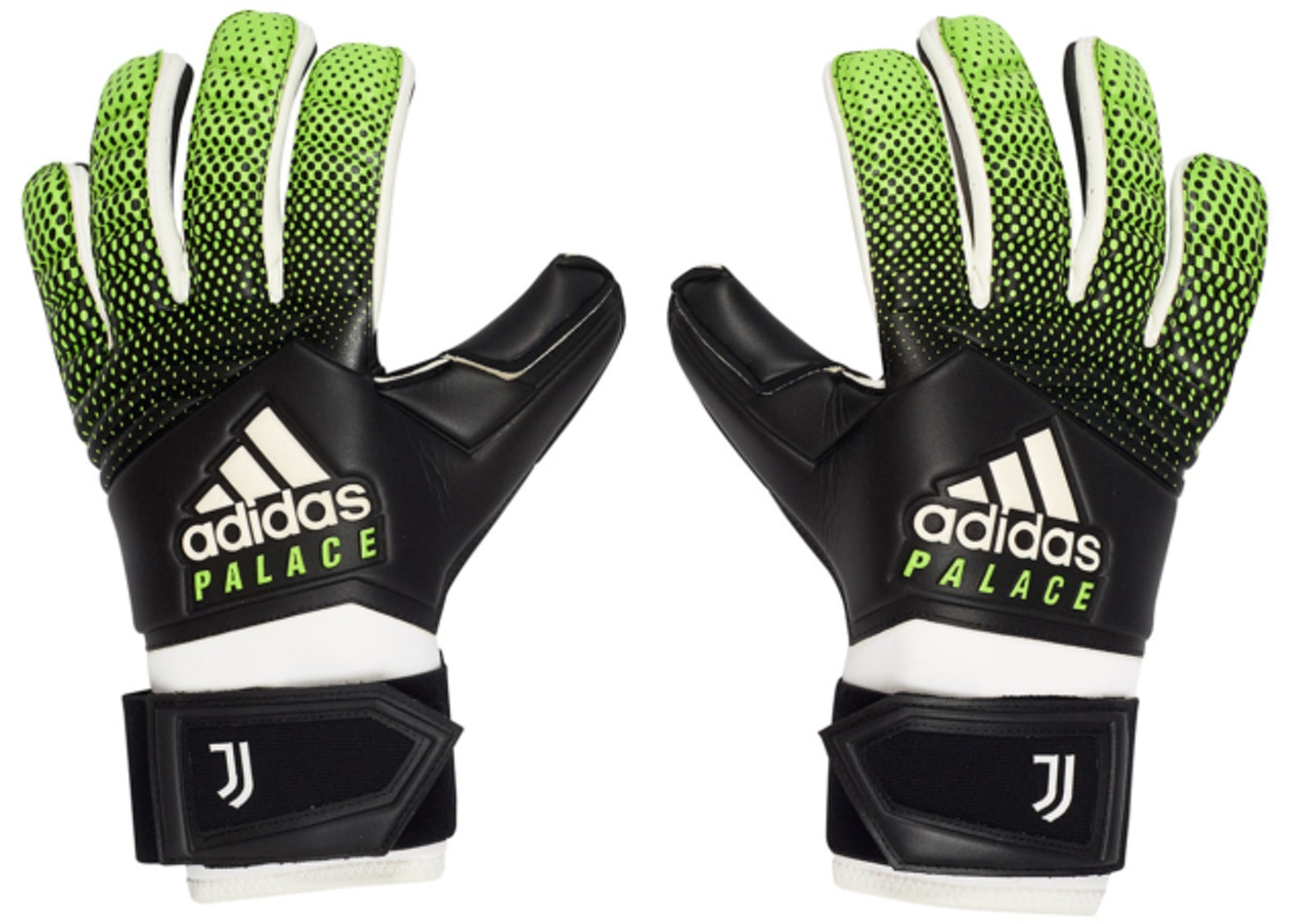 best online sale retailer large discount Palace Adidas Palace Juventus Goalkeeper Gloves Solar Green/Black ...