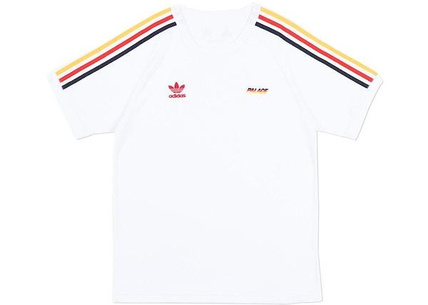 b8392d42 Palace adidas Terry T-Shirt White - SS18