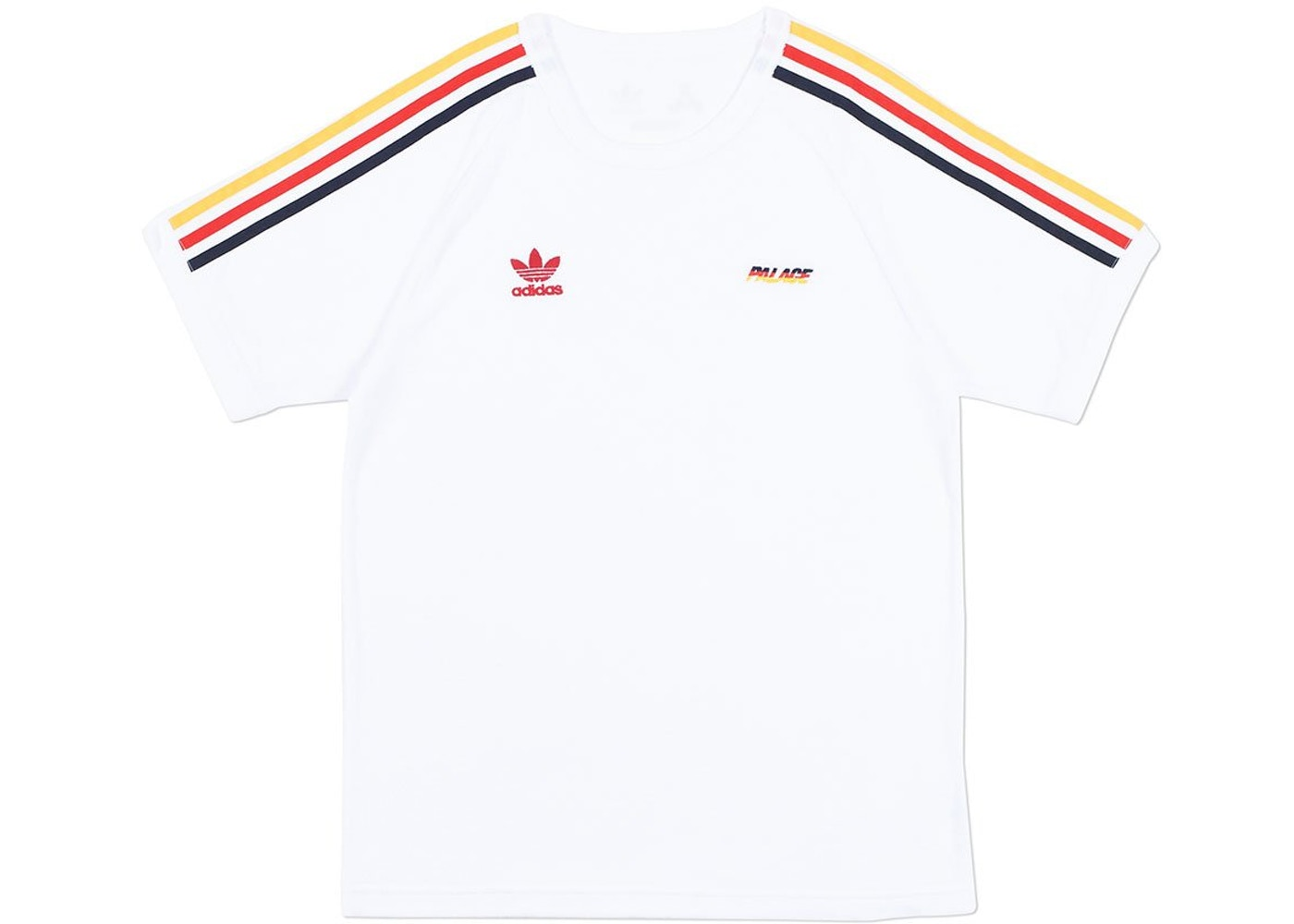 673ff689 Palace adidas Terry T-Shirt White - SS18
