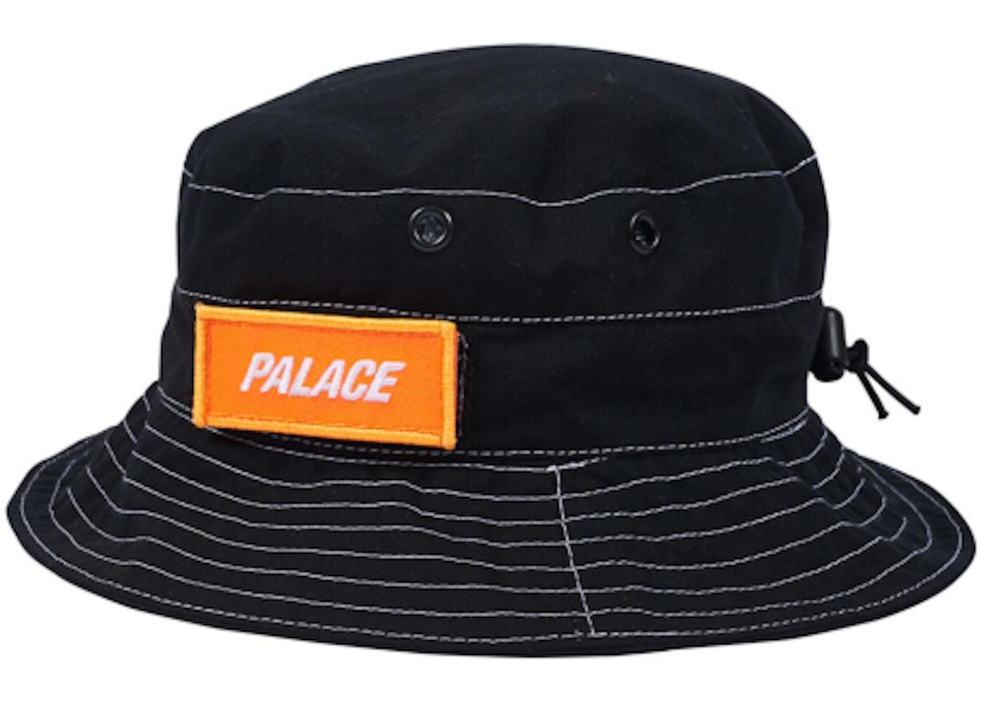 862e7651 Palace Ark Air Boonie Hat Black/Orange - Spring 2018