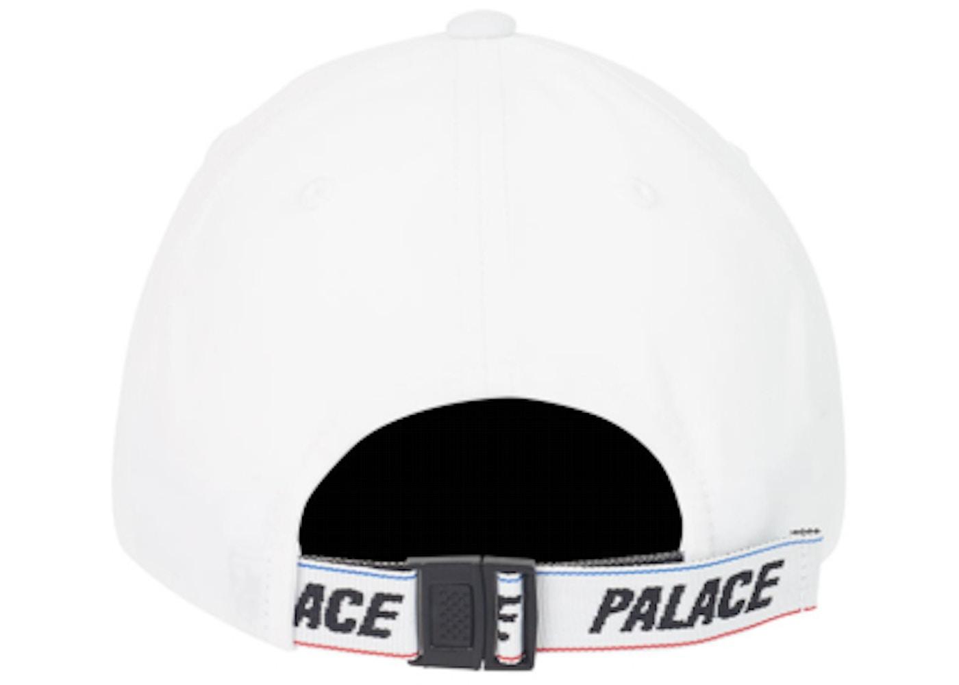 e806c70a2 Palace Basically A Sports Shell 6-Panel White - SS19