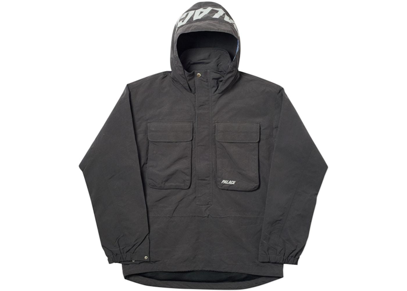b99a21e98b06 Palace Bello Jacket Dark Grey - FW18