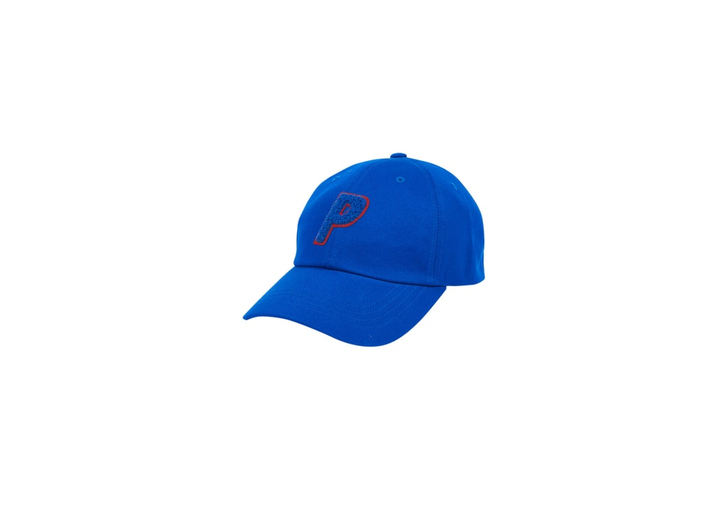 Palace Chenille P 6-Panel Blue/Red