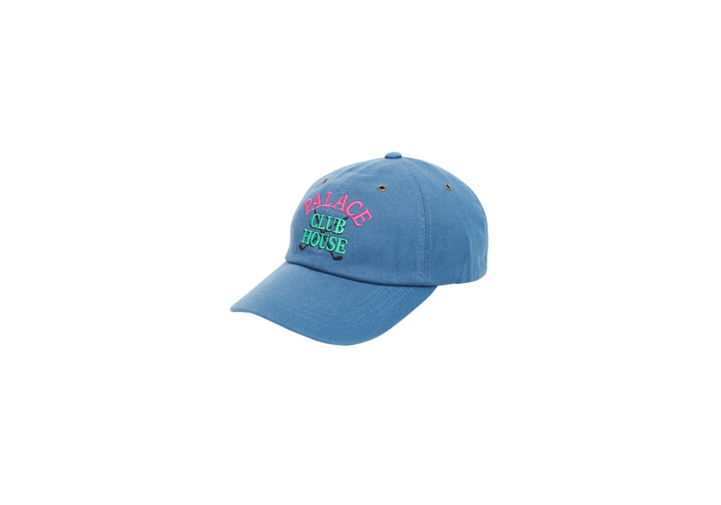 Palace Clubhouse 6-Panel Blue