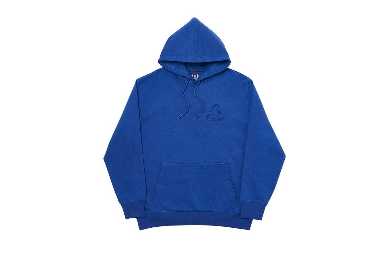 Palace De Boss P3 Hood Blue by Stock X