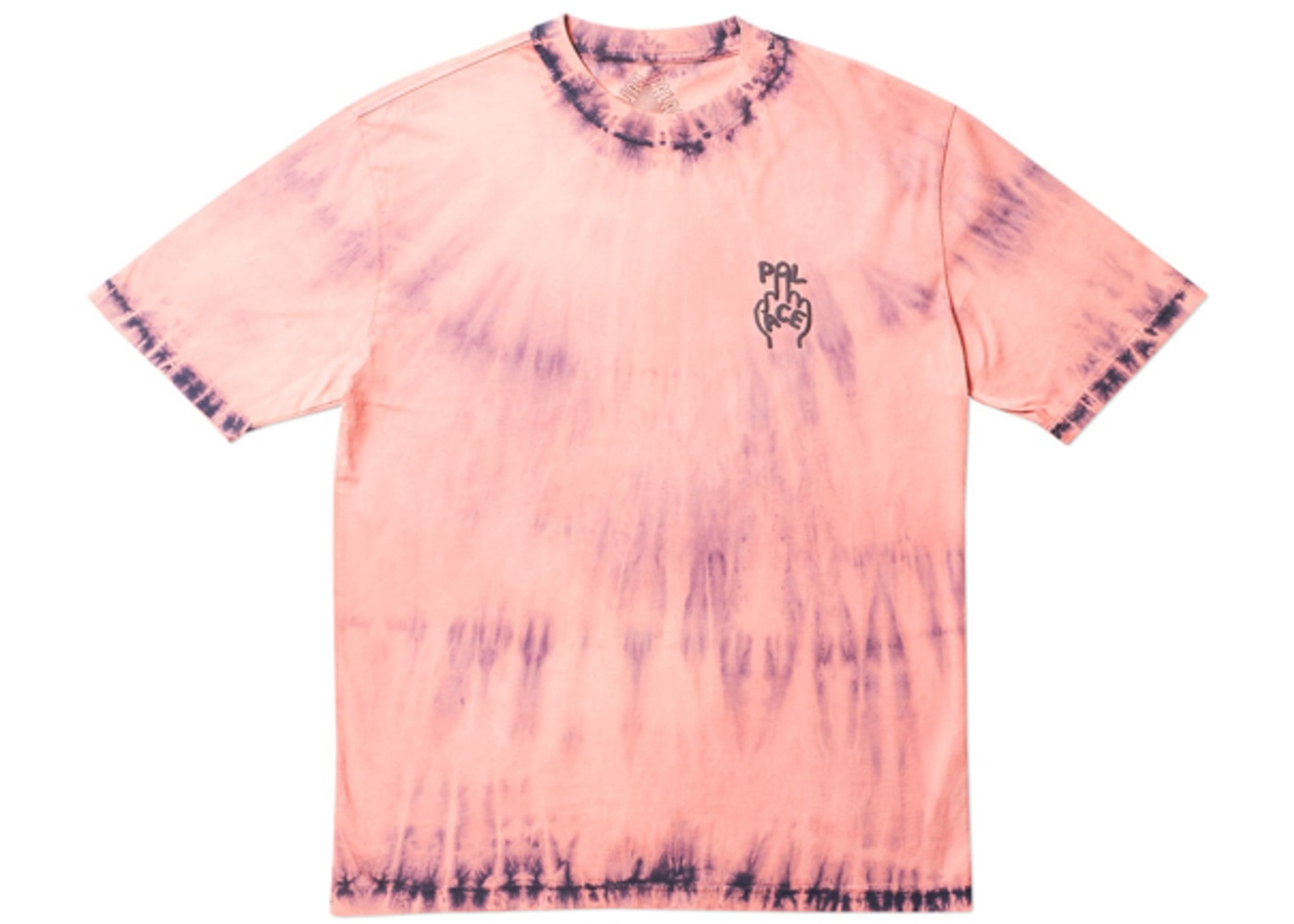 2eac6025 Palace Finger Up T-Shirt Navy Tie Dye - FW18