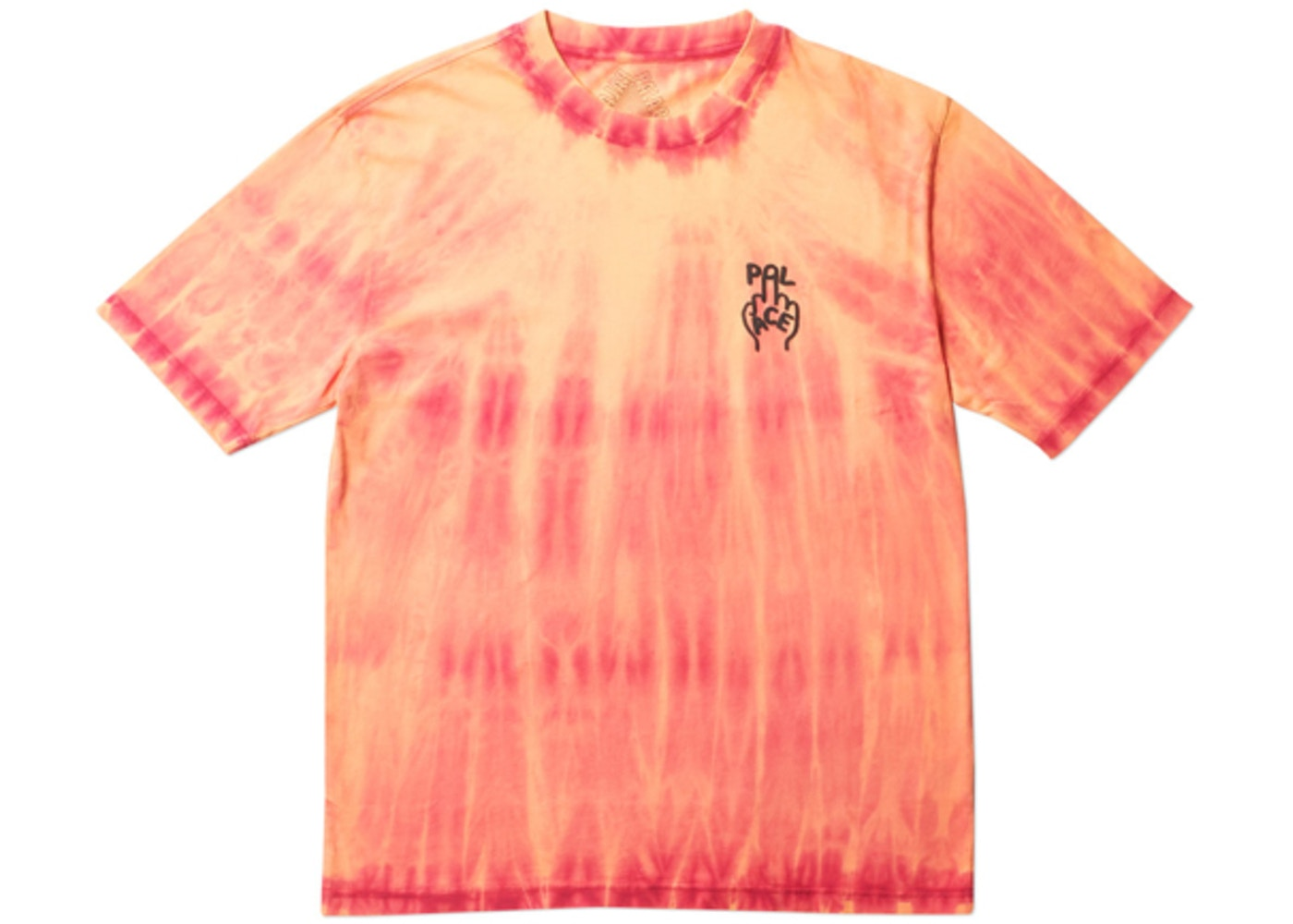 8f64bedb Palace Finger Up T-Shirt Orange Tie Dye - FW18
