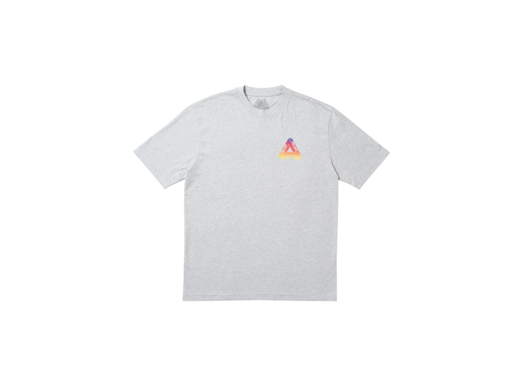 Palace Globular T-Shirt Grey Marl