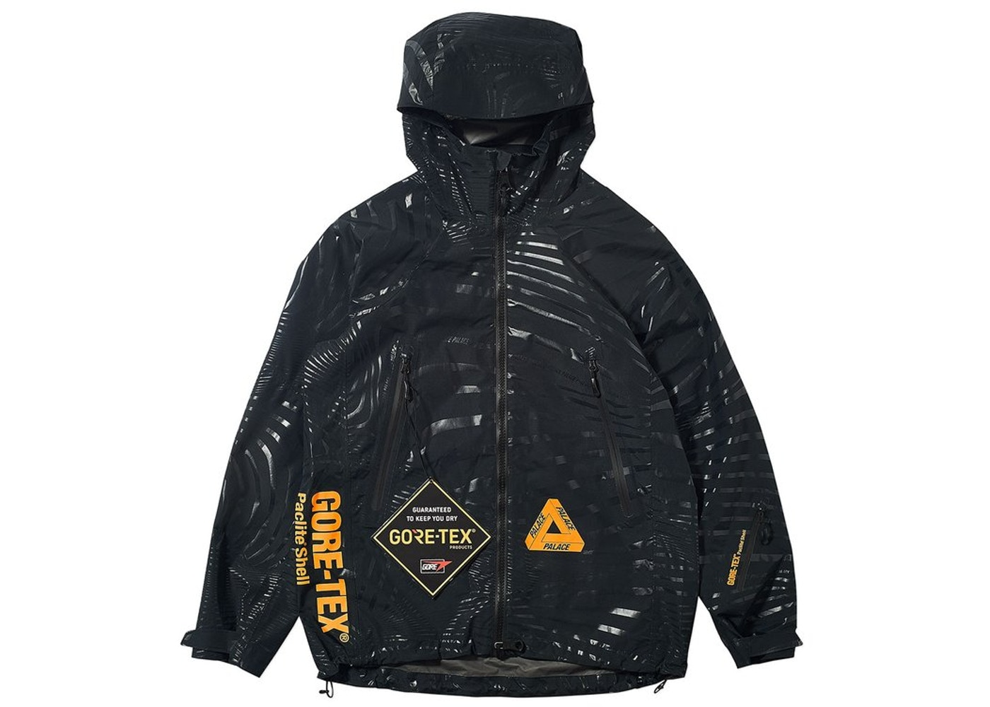 5c0b6a17f311 Palace Gore-Tex Vortex Paclite Jacket Black - FW18