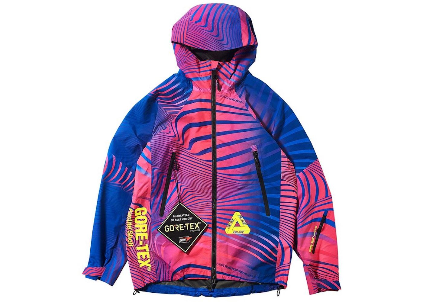 d6966a1de62b Palace Gore-Tex Vortex Paclite Jacket Pink - FW18