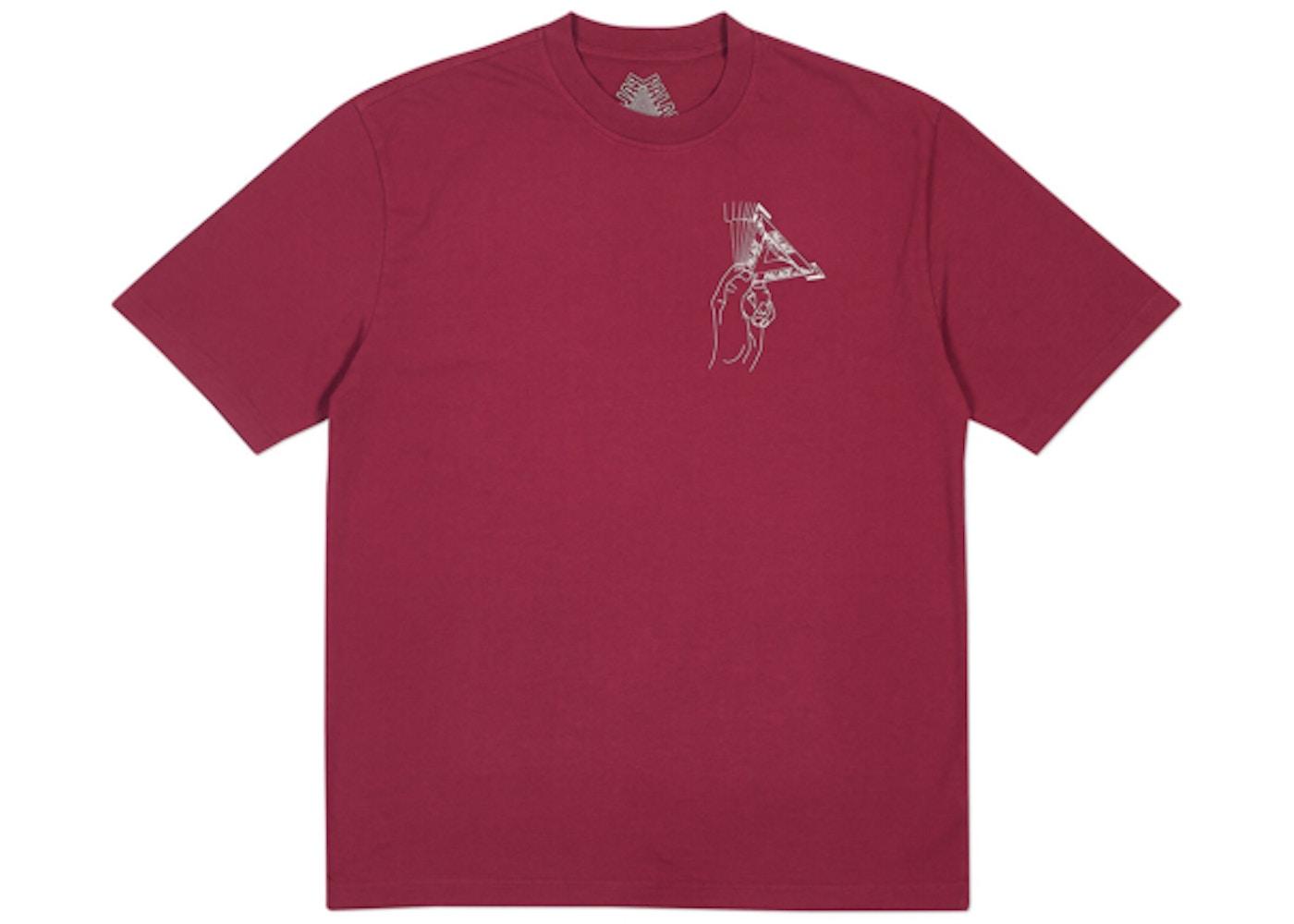 2edc5c71350b0b Palace Grand Master T-Shirt Cherry Red - FW18