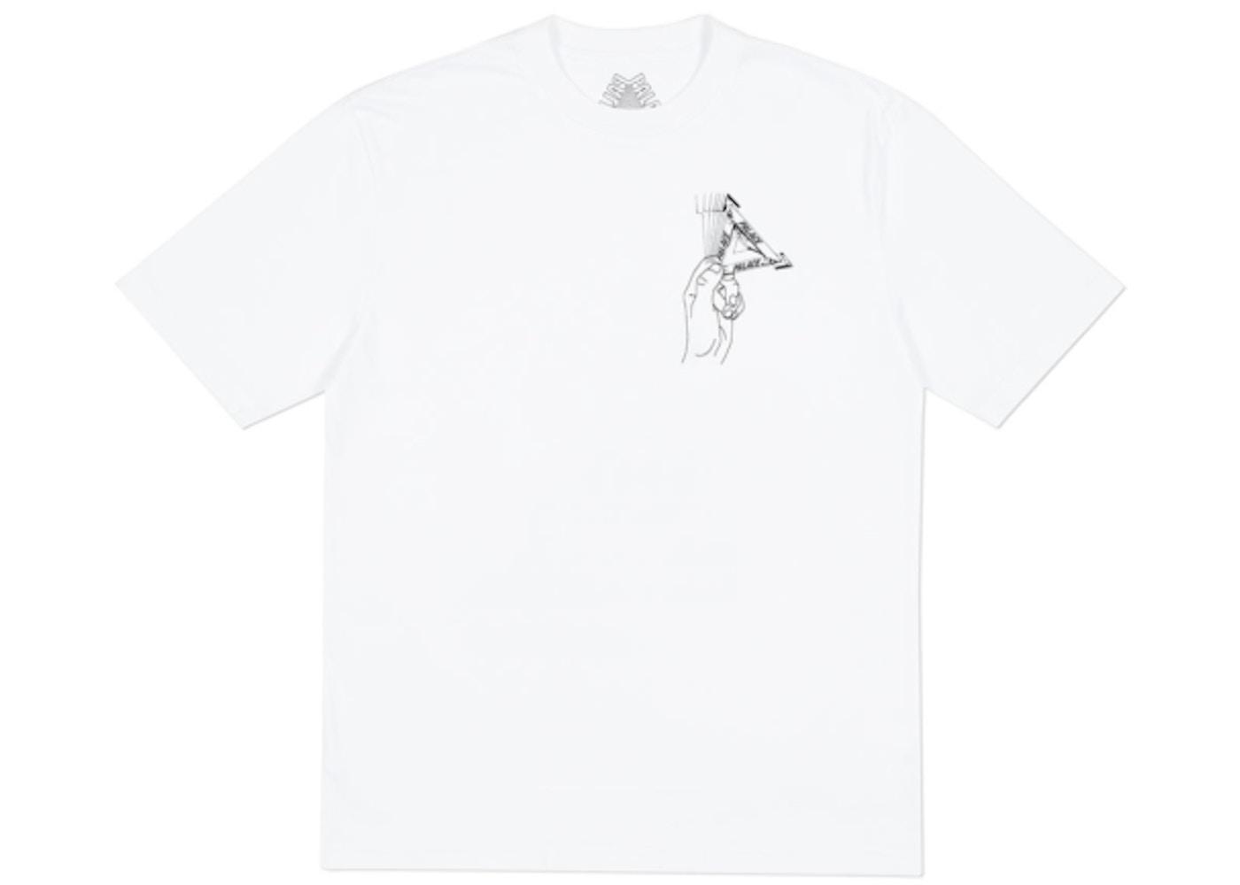 12a44ed9 Palace Grand Master T-Shirt White. Grand Master