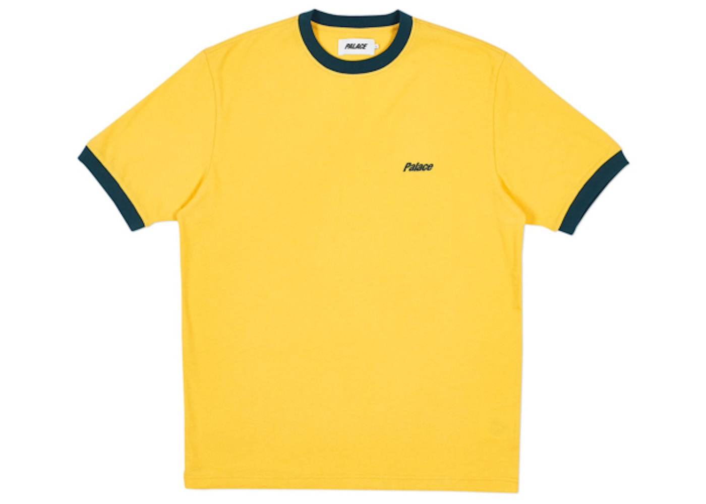 337e113364b Palace Heavy Ringer T-Shirt Yellow Green - Spring 2018