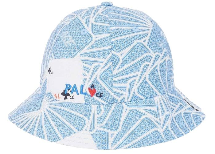 Palace JCDC Cards Bucket Hat Blue