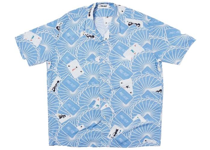 Palace JCDC Cards Shirt Blue
