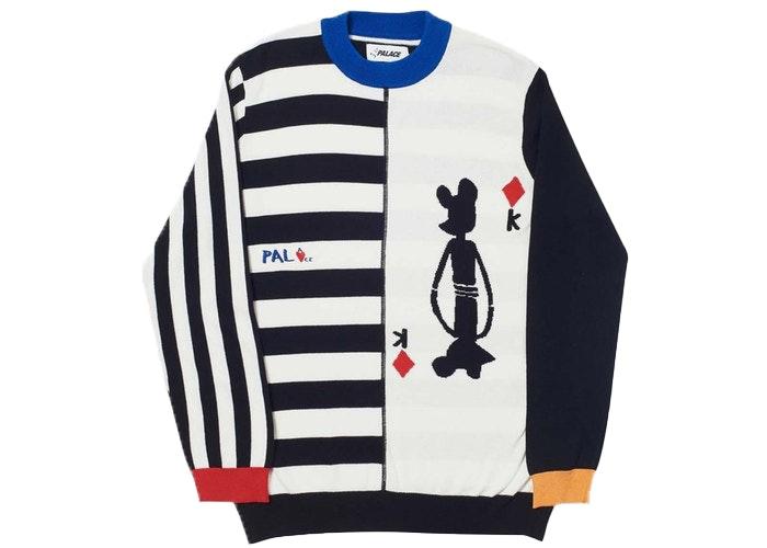 Palace JCDC Sweater White/Black