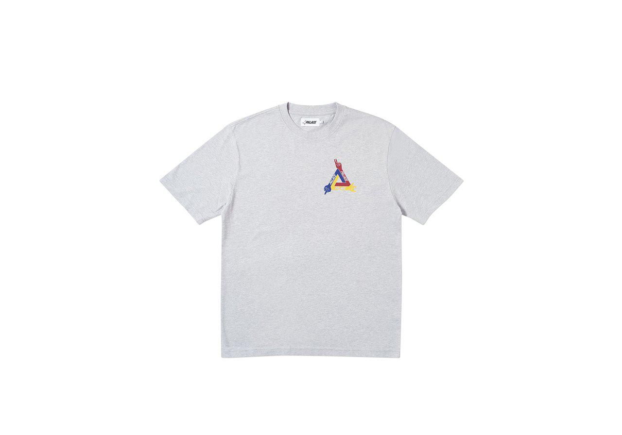 Palace JCDC T-Shirt Grey Marl