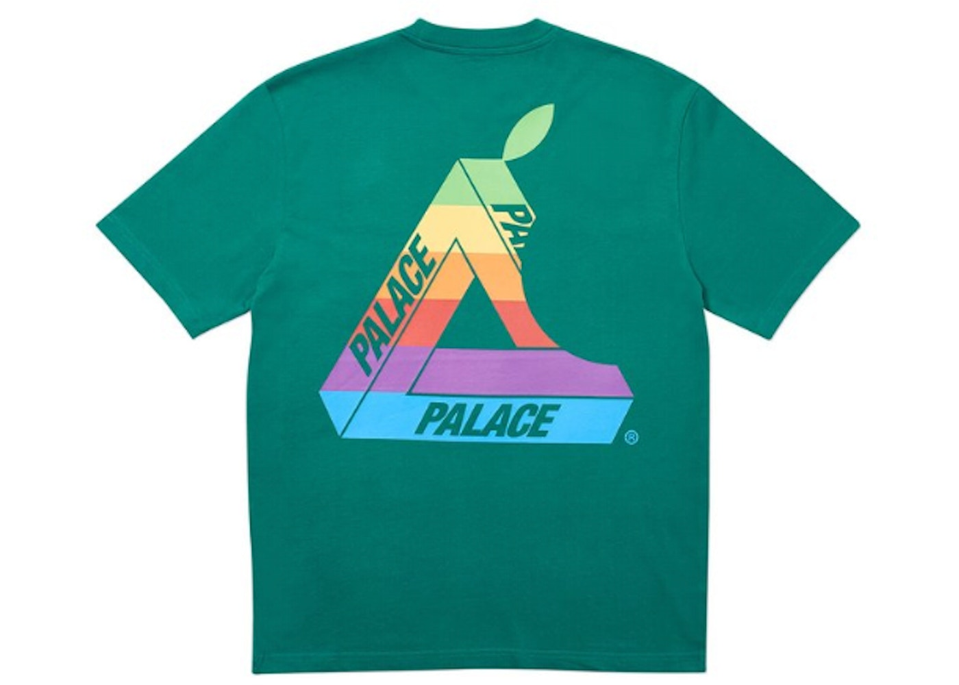 3accac50 Palace Jobsworth T-Shirt Green - SS19