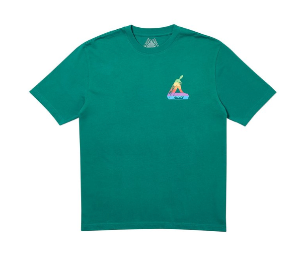 Palace Jobsworth T-Shirt Green