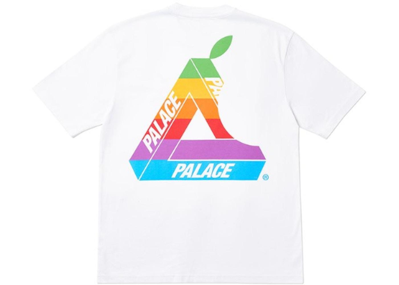f62d74f9 Palace Jobsworth T-Shirt White - SS19