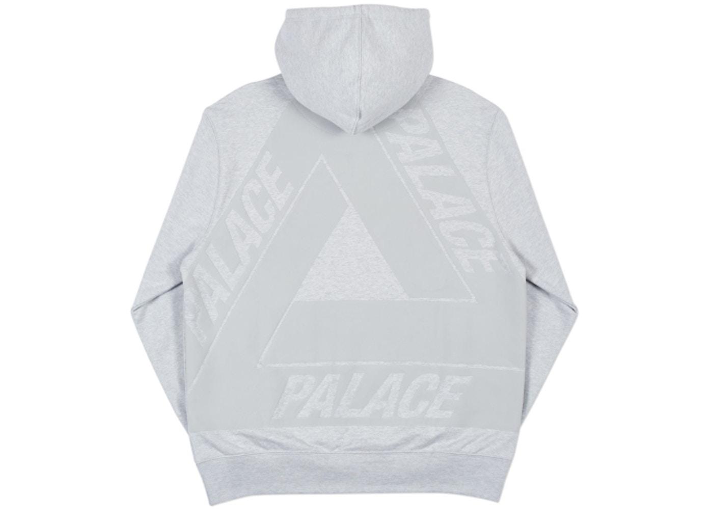 af7165a371b8 Palace Jumbo Ferg Hood Grey Marl - Spring 2018