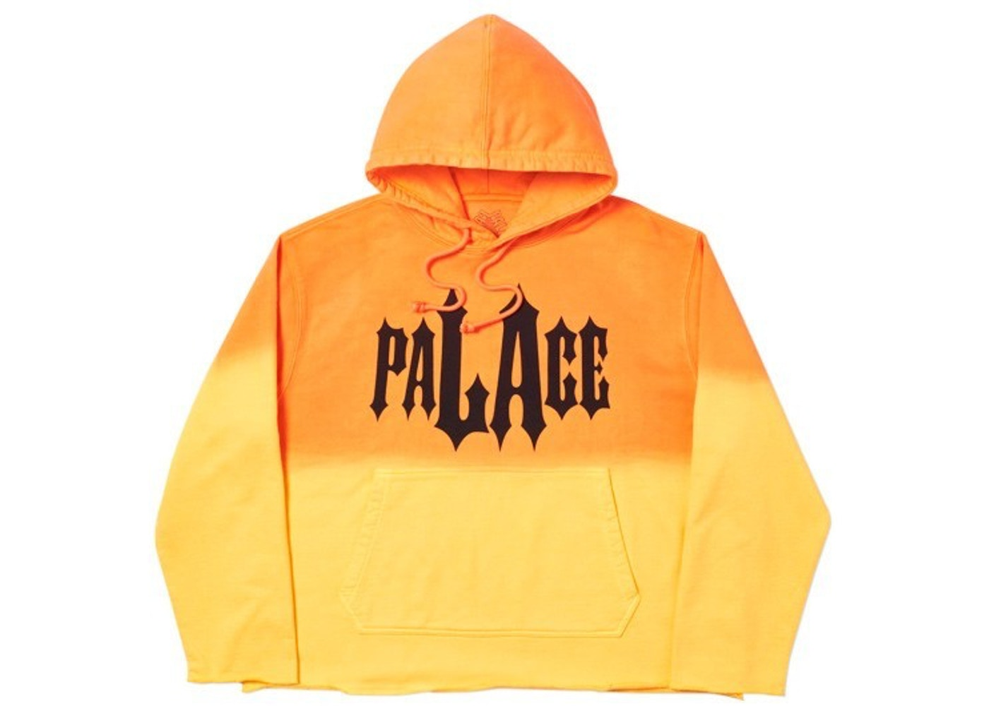 7947cd26 Palace LA Dye Hood Orange - SS19