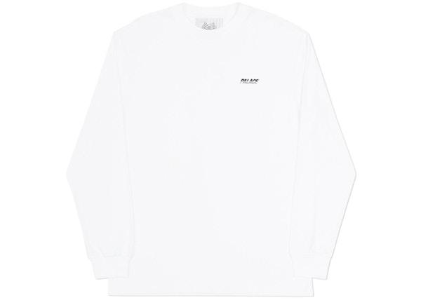 86f96270ad9a Palace Line Stripe Longsleeve White - Winter 2017