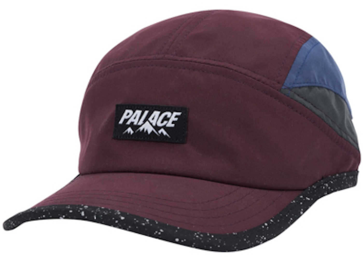 Palace Outdoor Shell Running Hat Purple Blue Grey - Spring 2018 b2e2525753a