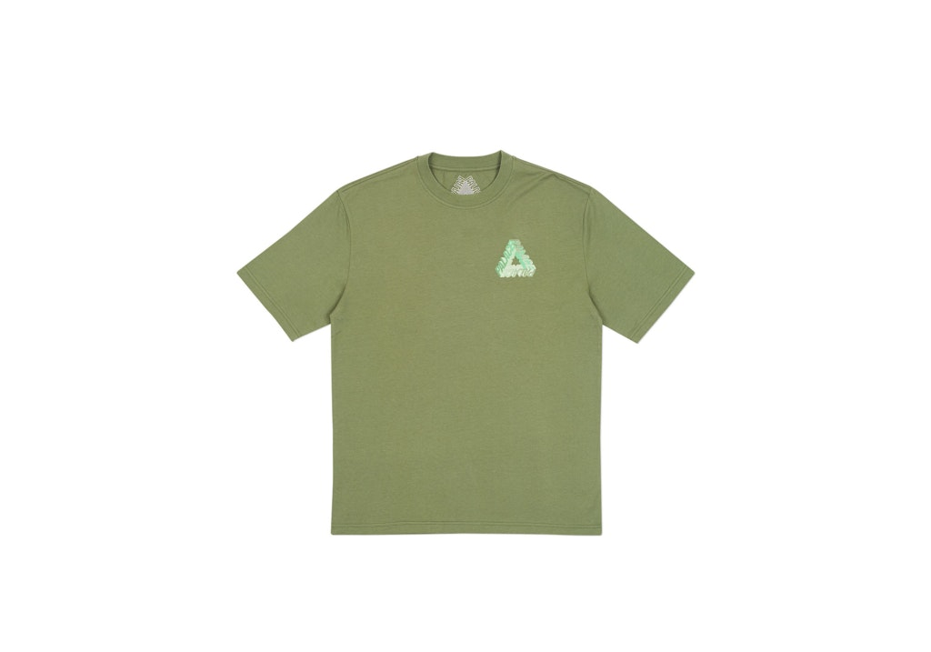 Palace P-3D T-Shirt (Ultimo 2017) Army Green