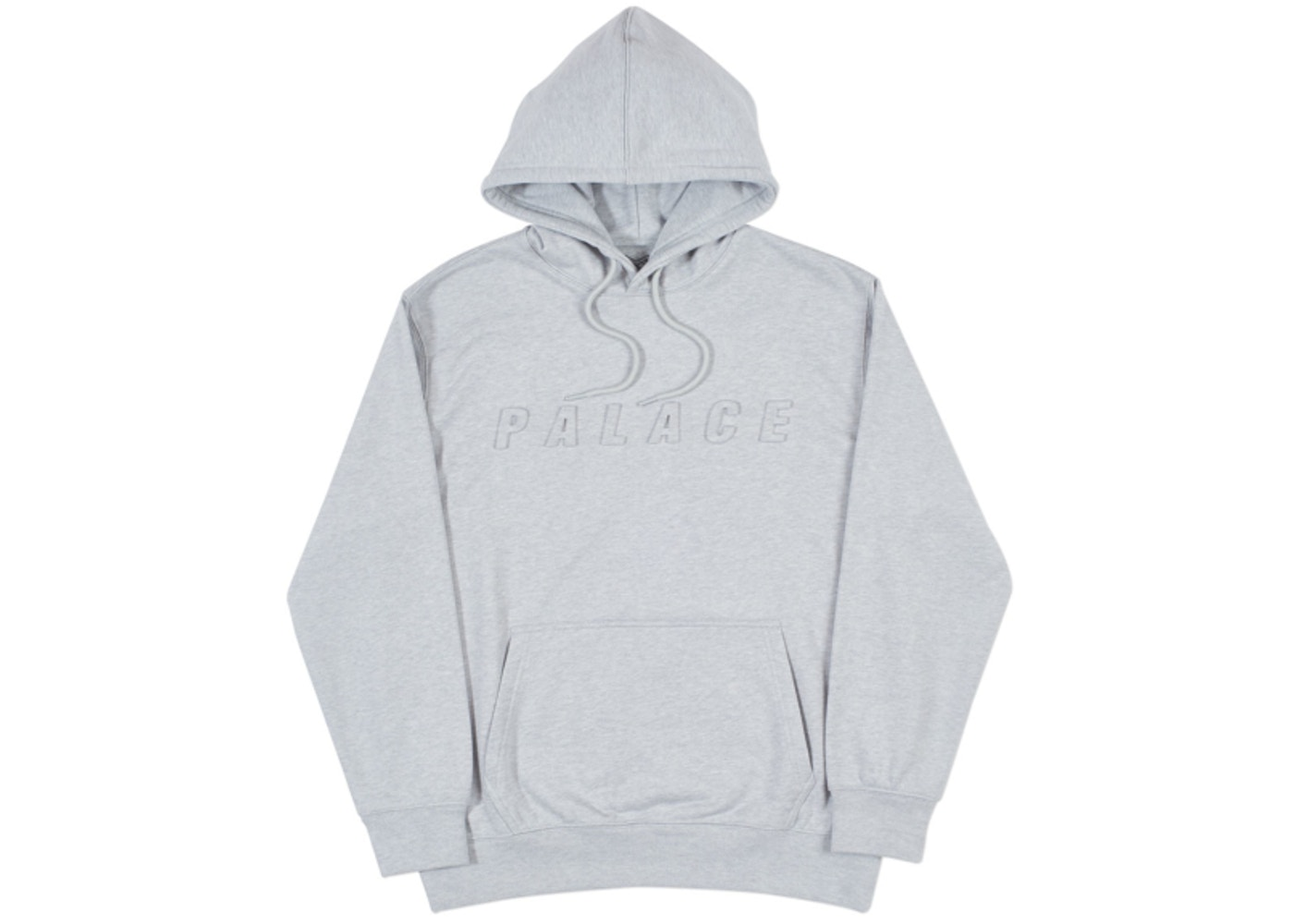 23e5d6f8 Palace P-A-L Hood Grey Marl - Spring 2018