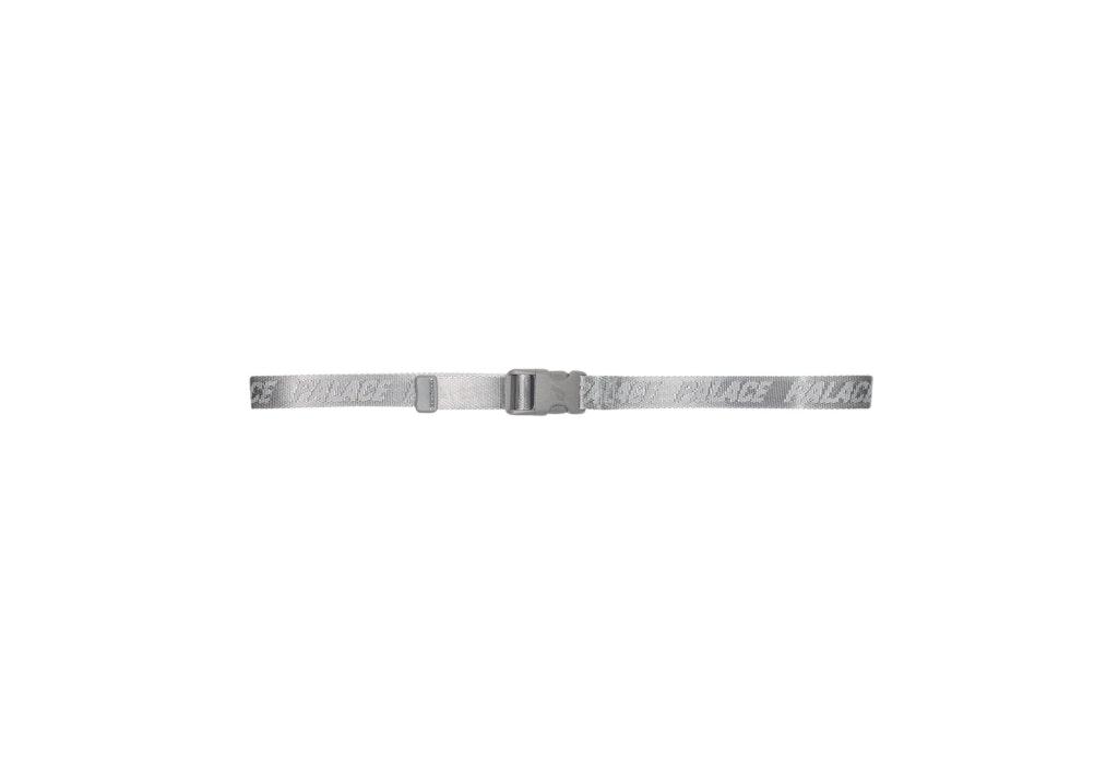 Palace P Clip Webber Belt Grey
