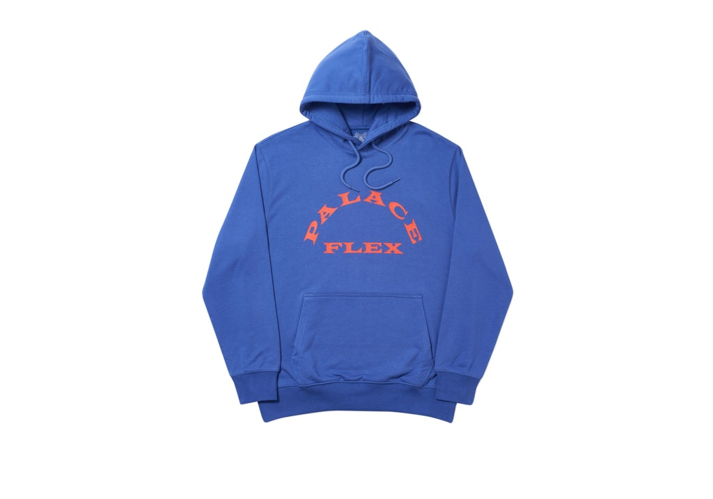 Palace P-Flex Hood Blue