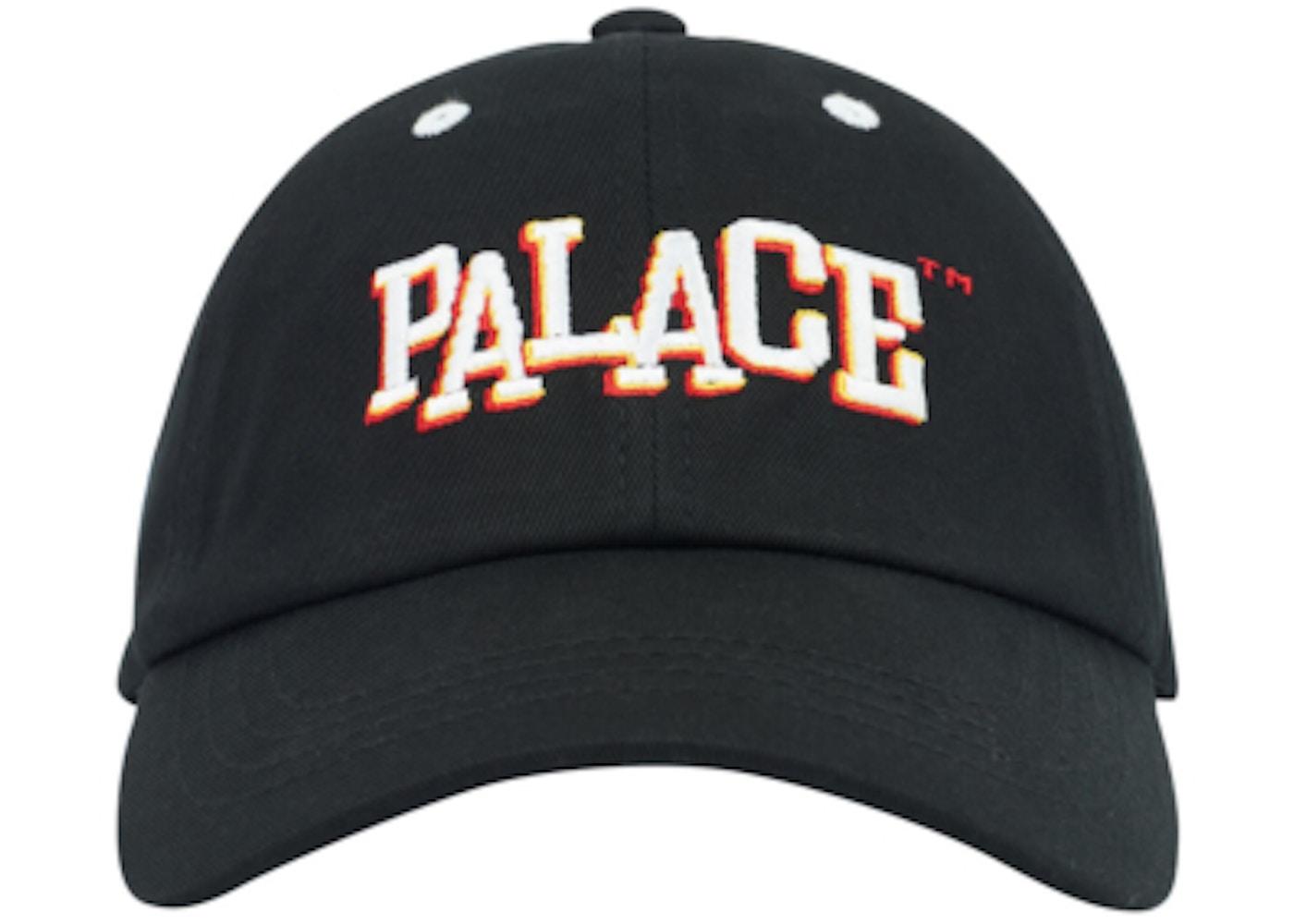 6a2319eb1657 Palace Pal Boy 6-Panel Black - FW18