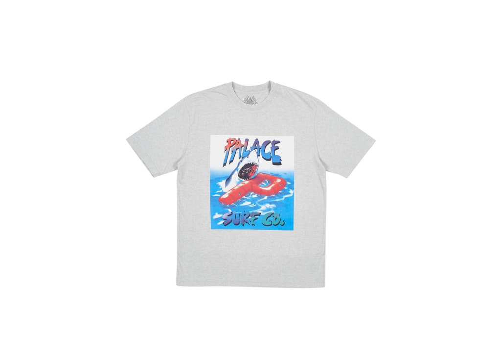 Palace Palace Co T-Shirt Grey Marl