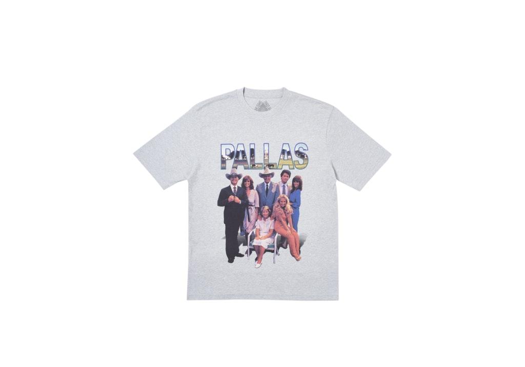 Palace Pallas T-Shirt Grey Marl