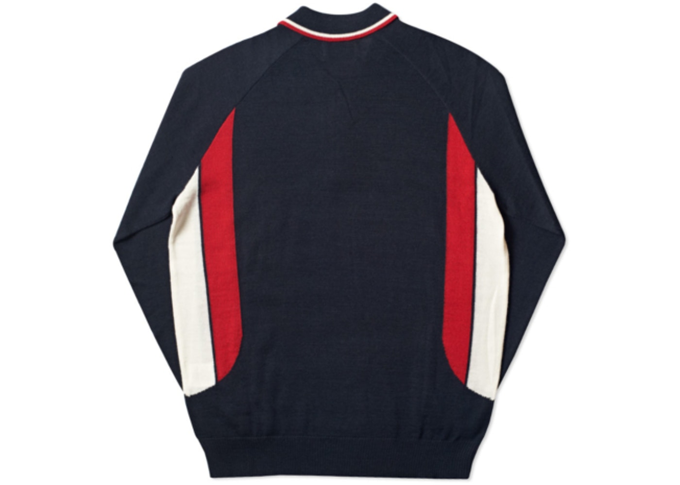b4bf8aa6 Palace Polo Zip Knit Navy - Ultimo 2016