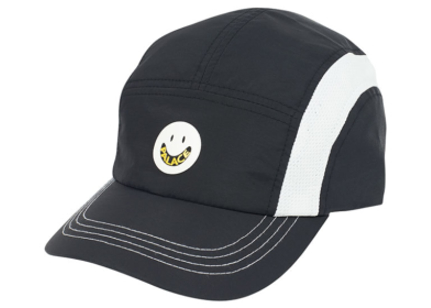 0f0439ce9ed Palace P s Are Good Shell Running Hat Black. P s Are Good Shell
