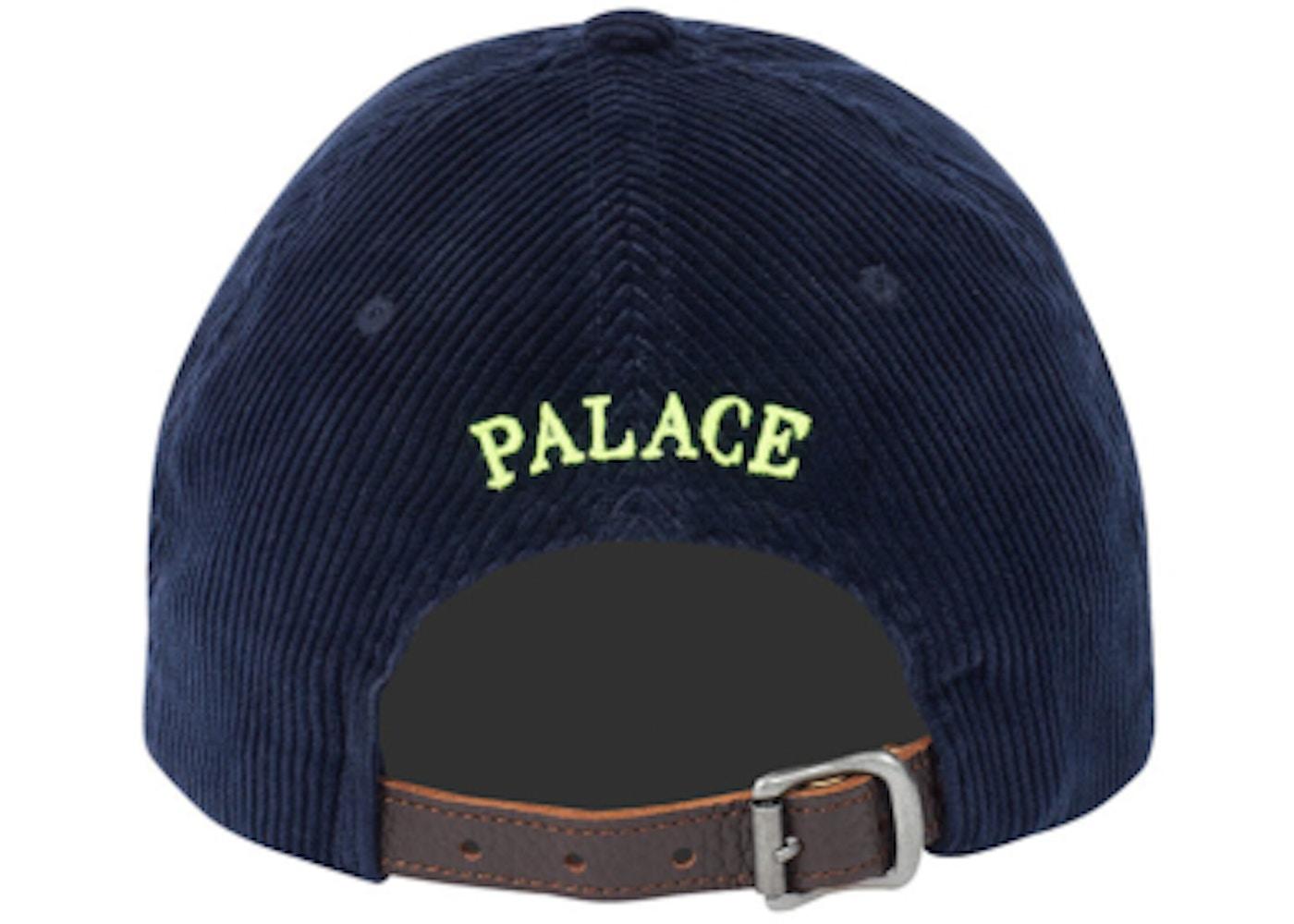Palace Ralph Lauren Corduroy Classic Polo Cap Aviator Navy - FW18 018fa4afc55
