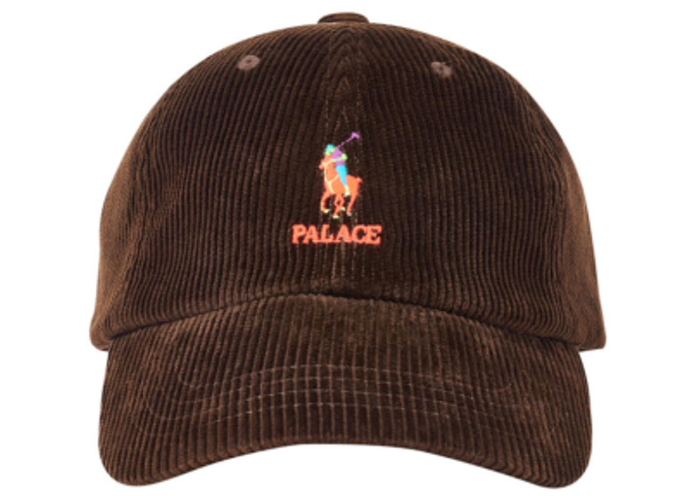 e816bf9c4d237d Palace Ralph Lauren Corduroy Classic Polo Cap Mohican Brown - FW18