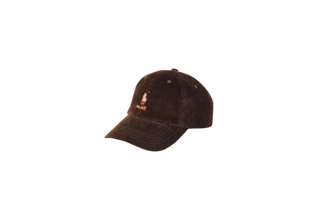 Palace Ralph Lauren Corduroy Classic Polo Cap Mohican Brown