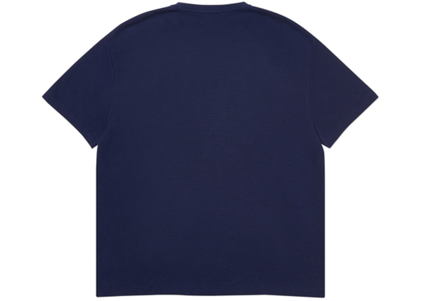 99a11b28 Palace Ralph Lauren Waffle Pocket Tee French Navy - FW18