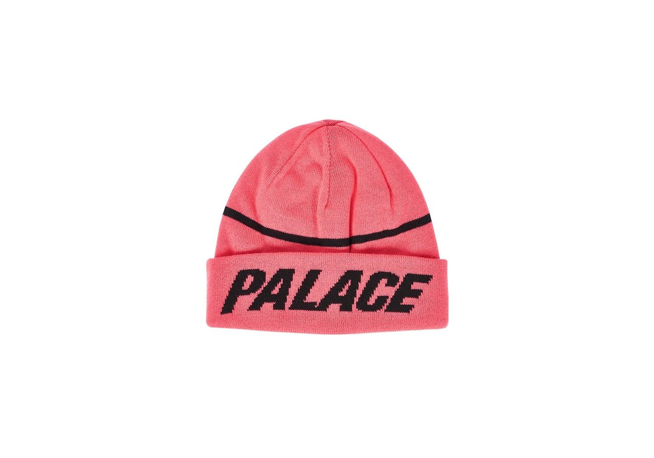 Palace Reversible Beanie Red/Black