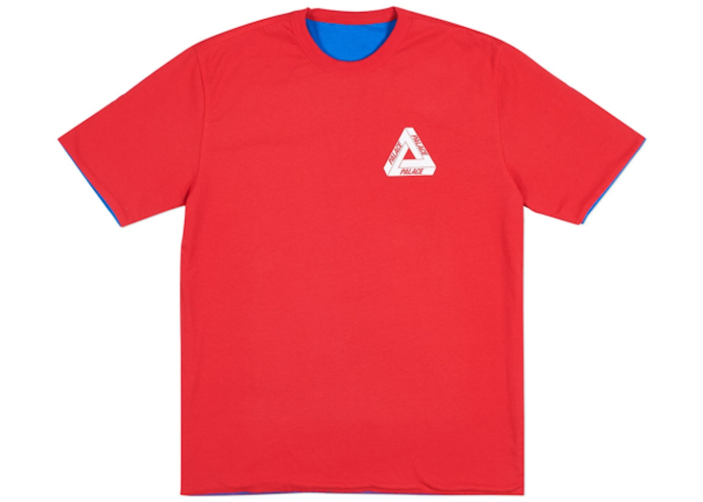 50ab5ccfef0e Palace Reverso T-Shirt Red Blue - SS18