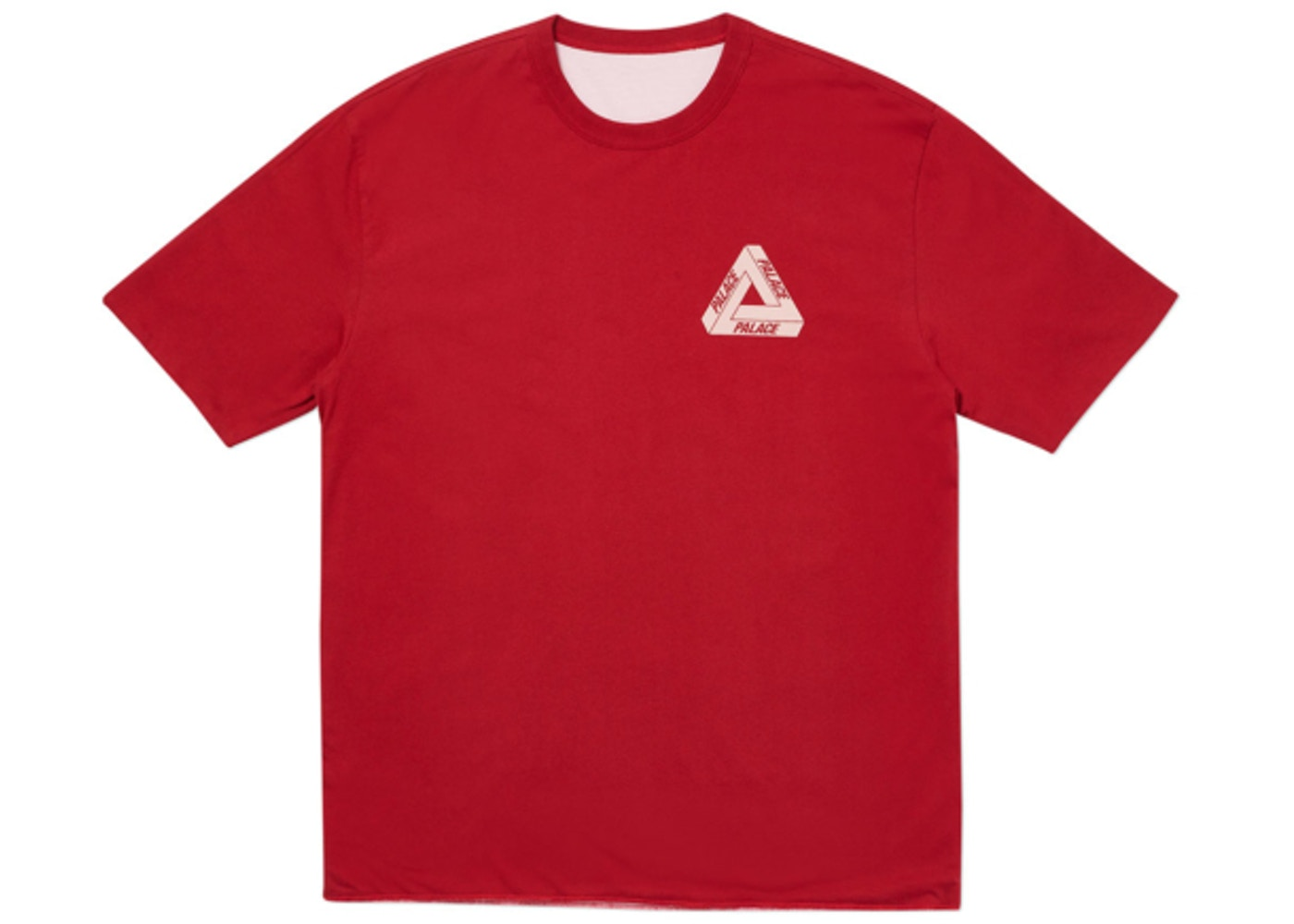 b1ef75c0 Palace Reverso Tee Red/Pink - SS19
